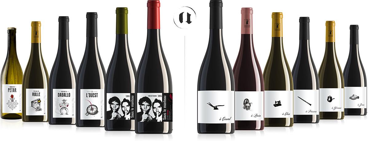 nos gammes de vins
